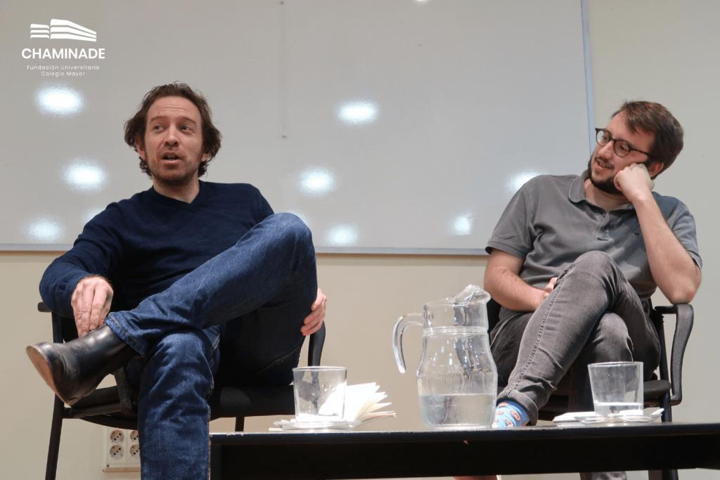 Ricardo Dudda y Daniel Gascón
