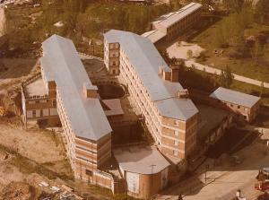 CMU Chaminade vista aérea