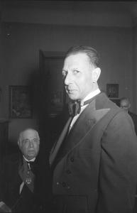 Luis Moya Blanco con Eugenio D'Ors