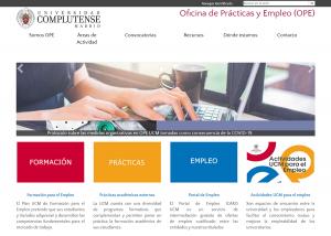 Portal de prácticas de la UCM