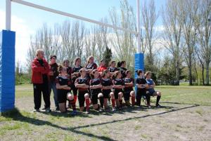 Equipo femenino de rugby del Chaminade 2013