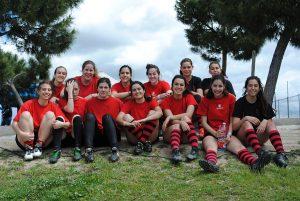 Equipo femenino de rugby del Chaminade 2016
