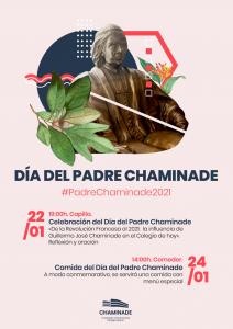 Cartel del Día del Padre Chaminade 2021