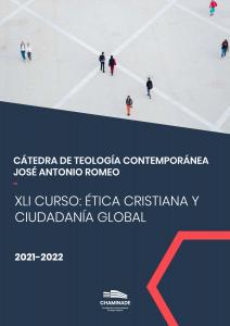 2021-2022 Portada de la Cátedra de Teología Contemporánea